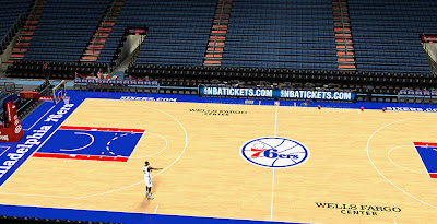 NBA 2K14 76ers Court Stadium Update
