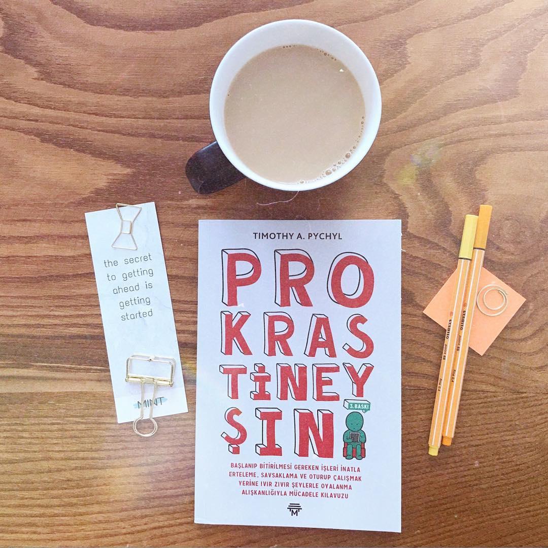 Prokrastineysin - Başlanıp Bitirilmesi Gereken İşleri İnatla Erteleme, Savsaklama ve Oturup Çalışmak Yerine Ivır Zıvır Şeylerle Oyalanma Alışkanlığıyla Mücadele Kılavuzu (Kitap)