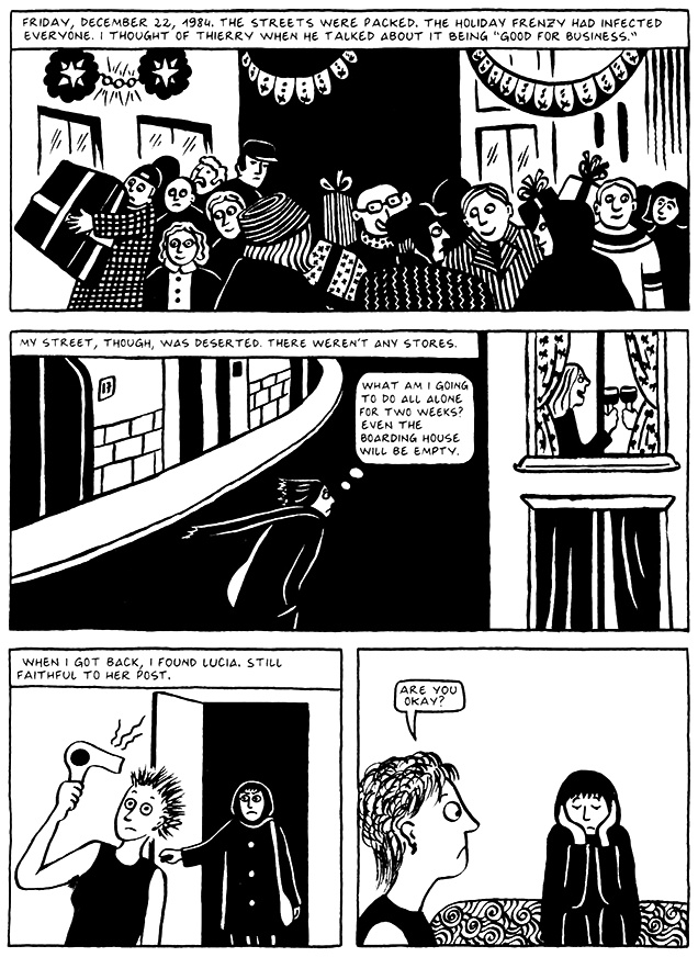 Read Chapter 2 - Tyrol, page 15, from Marjane Satrapi's Persepolis 2 - The Story of a Return