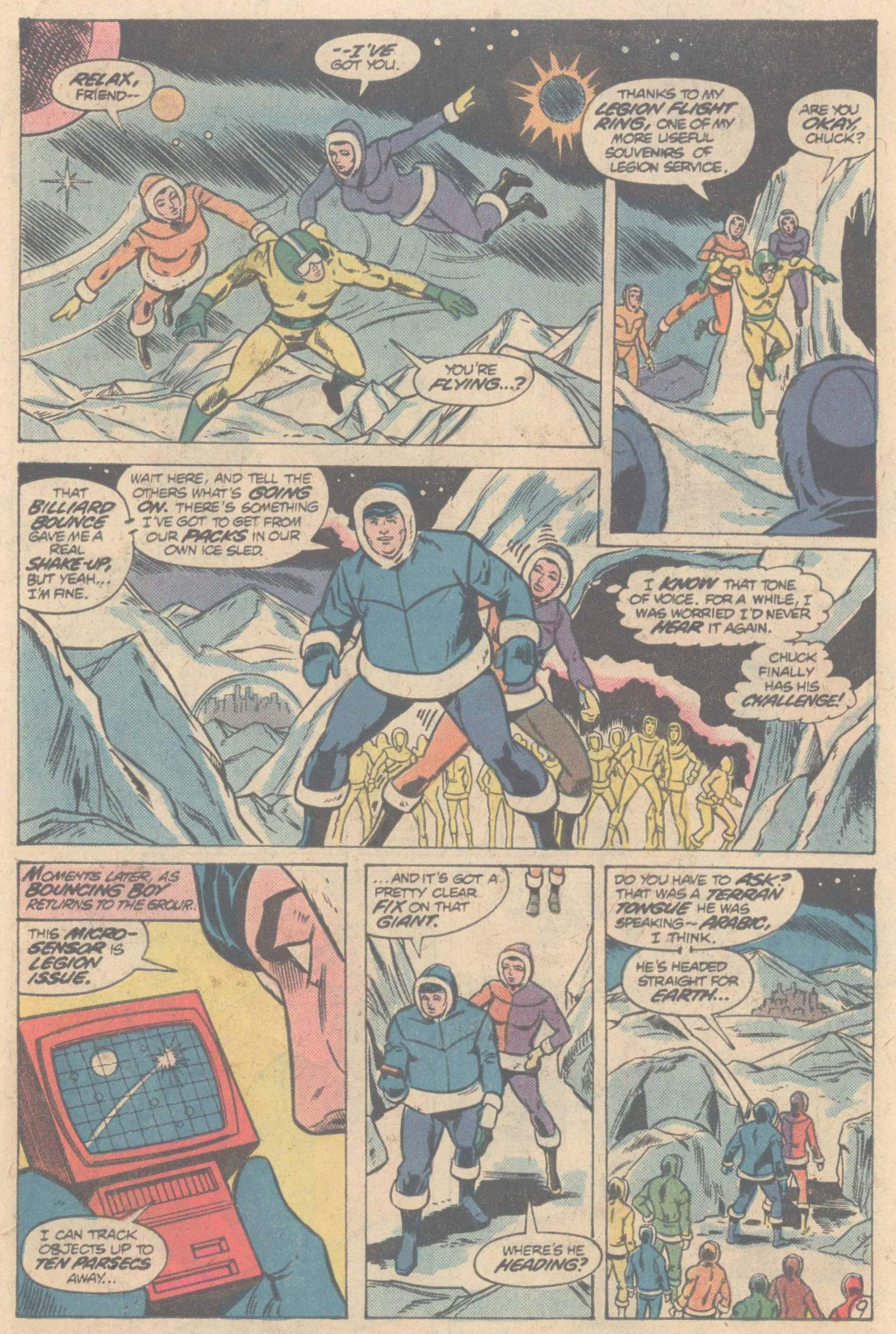 Legion of Super-Heroes (1980) 266 Page 14
