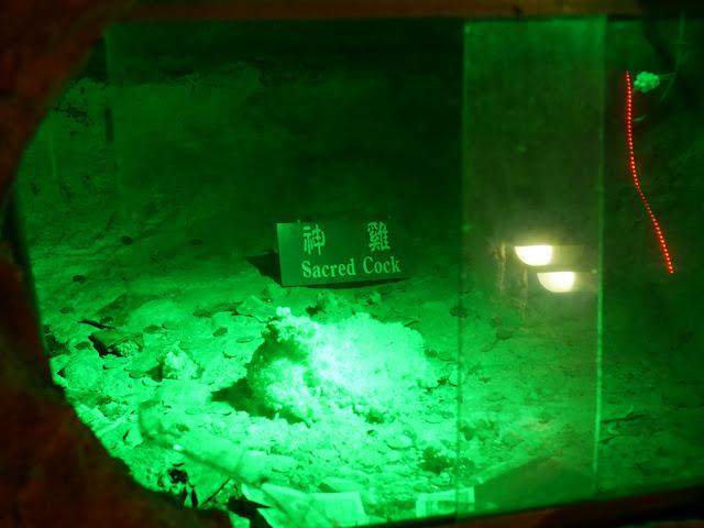 Sacred Cock at Panlong Cave in Yunfu