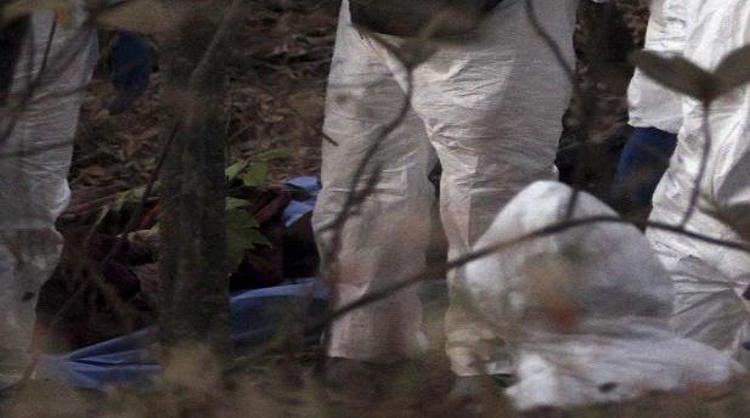 Hallan 4 cuerpos en una narcofosa en Xalisco, Nayarit