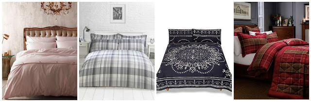 winter inspired bedding wish list