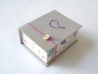 σετ βάπτισης πουλάκια κουτί μαρτυρικών για κοριτσάκι άνοιξη καλοκαίρι