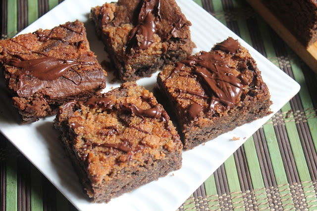 Peanut Butter Brownies Recipe - Chocolate & Peanut Butter Brownies Recipe