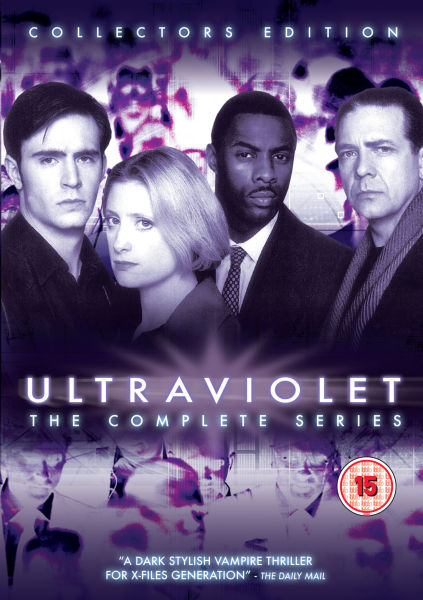 Ultraviolet Region 2 Collectors Edition DVD cover