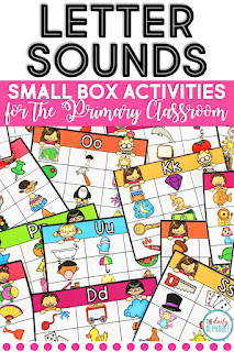 Small Box Activities is an easy to prep, purposeful activity, that is perfect for little hands. It can be used for morning work, a literacy center, early finisher work and more!