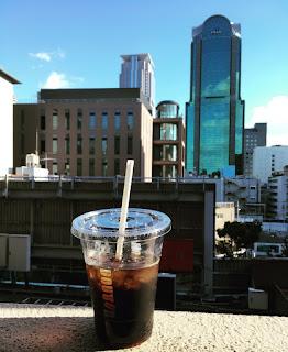ドトール アイスコーヒー コーヒー スクールからの眺め