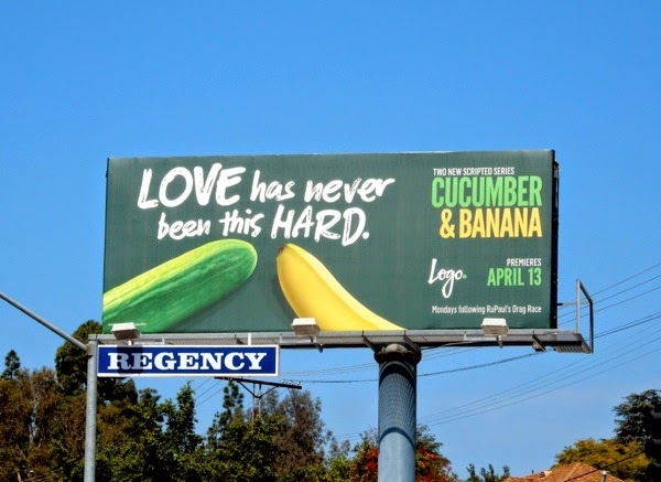 Cucumber and Banana season 1 billboard Sunset Strip