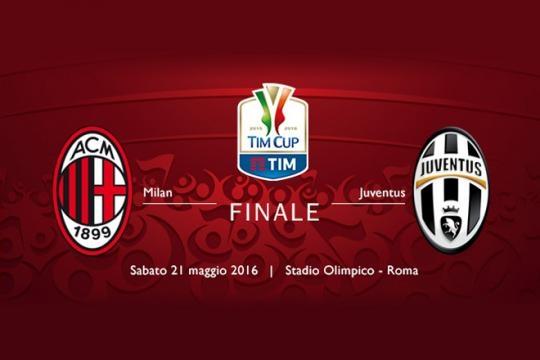Milan x Juventus - Final da Copa da Itália 2016 - Data, Horário e TV