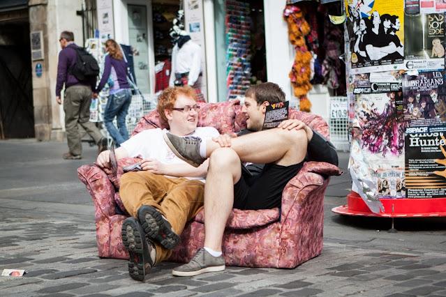 Fringe festival-Edimburgo