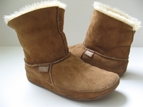 55bbdea5679b12 Fitflop Mukluk Chestnut Size 5