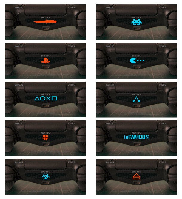 Photo de Stickers pour light bar de manette de PS4