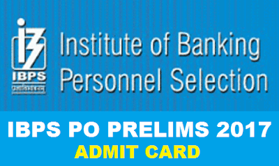 IBPS PO PRELIMS CALL LETTER OUT