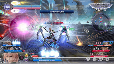 Dissidia final fantasy gameplay