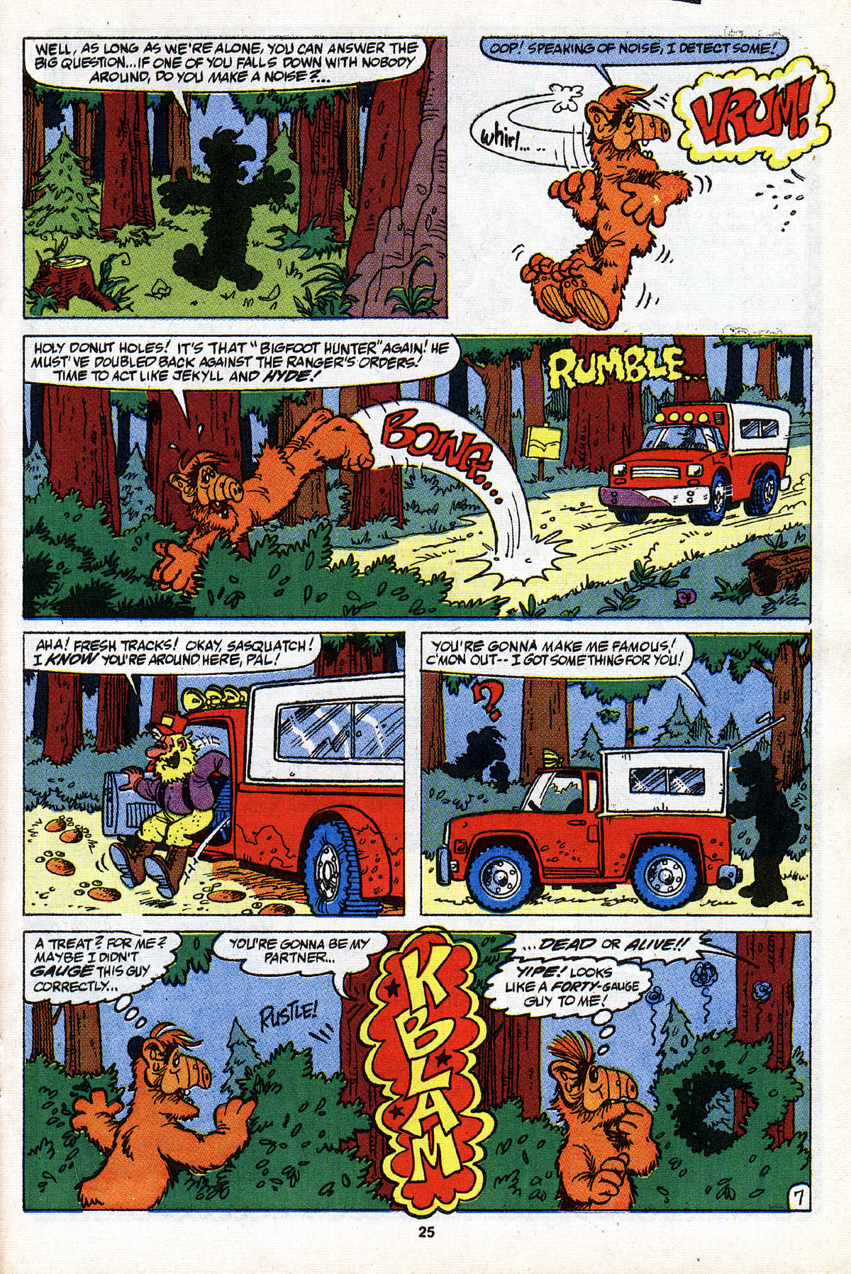 Read online ALF comic -  Issue #28 - 27