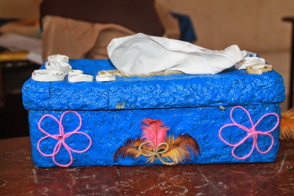Kurnia Agus: Kerajinan tangan dari bahan bekas rak telur