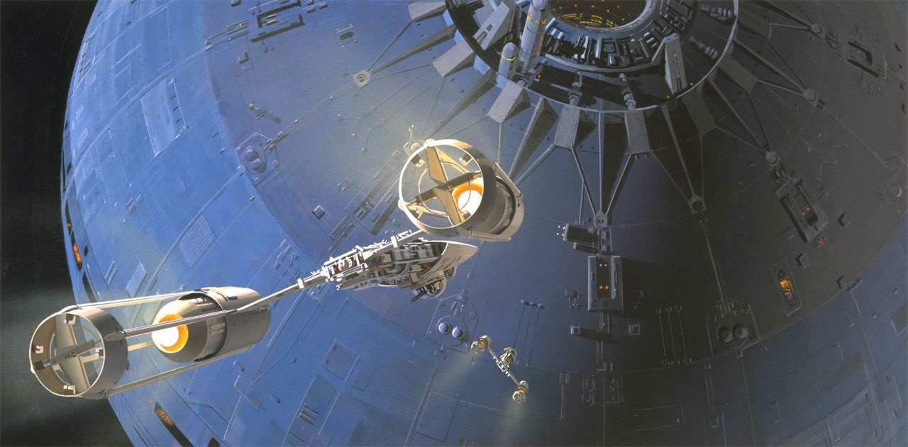 ... And Many Others Who Worked Together On This Amazing Movie. Out Of All  Of These People, I Greatly Connect With Ralph McQuarrie And His Concept Art.
