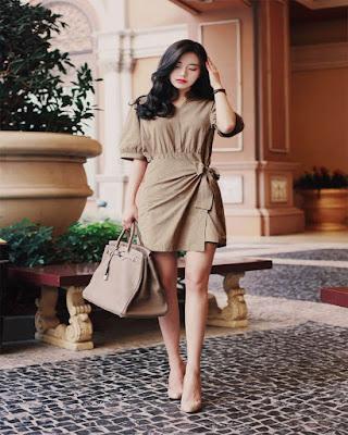 korean dress trendy