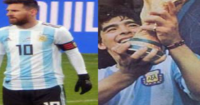 فيفا:ميسى على بعد 3 أهداف فى كأس العالم لكسر رقم مارادونا