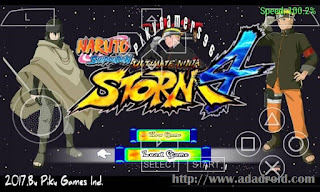 Modpack Naruto Impact EUR cso PSP Android