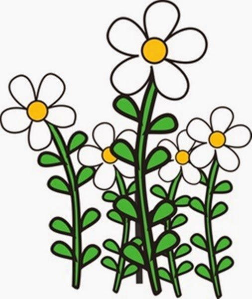 clipart garden flowers - photo #3