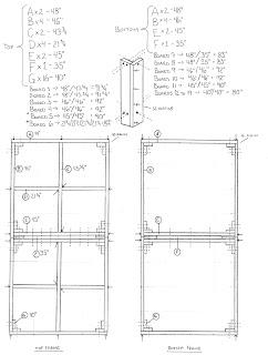 Final plan for 4' x 8' benchwork