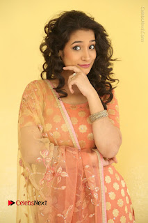 Telugu Actress Santoshi Sharma Latest Stills in Salwar Kameez at HBD Movie Teaser Launch  0018.JPG