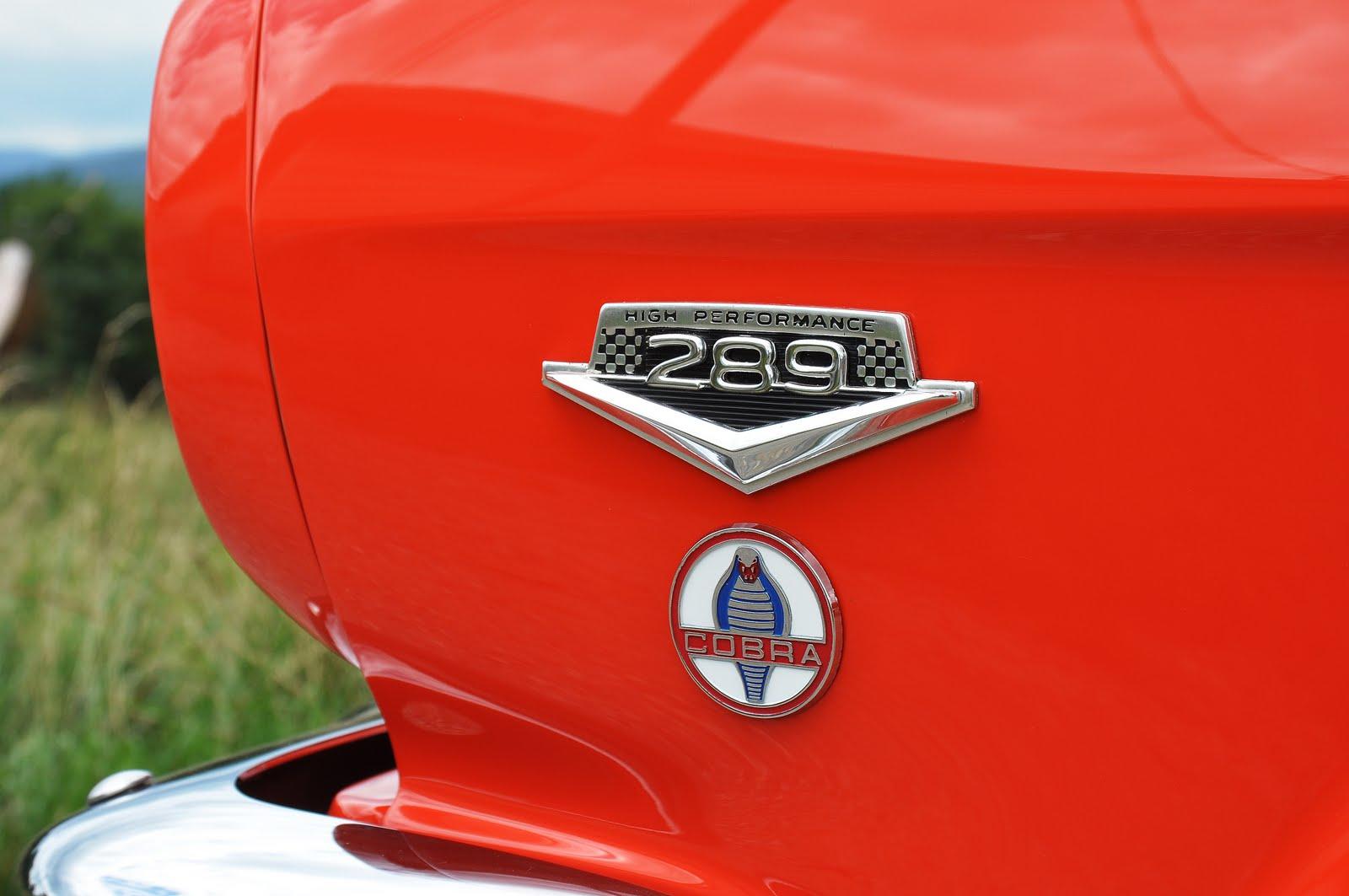 Mustang cobra emblem