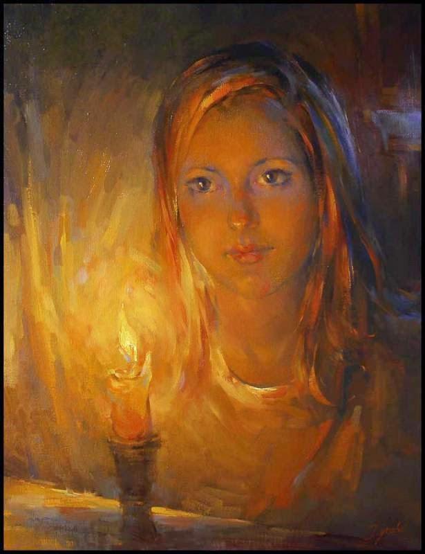 Luz de Vela - Ignat Ignatov e suas mais belas pinturas  ~ Pintora russa