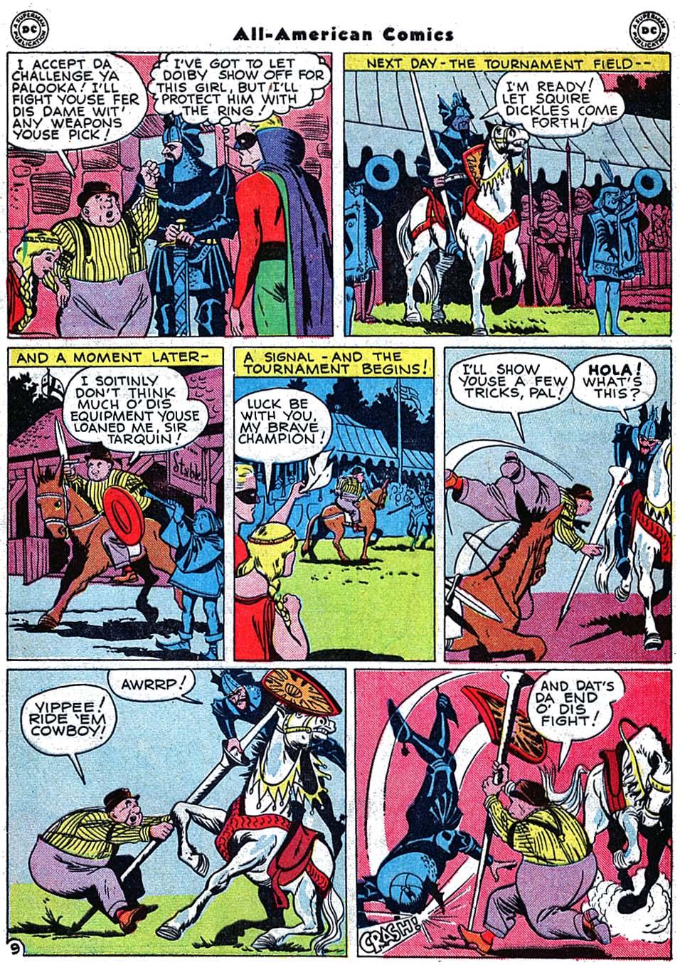 Read online All-American Comics (1939) comic -  Issue #72 - 11
