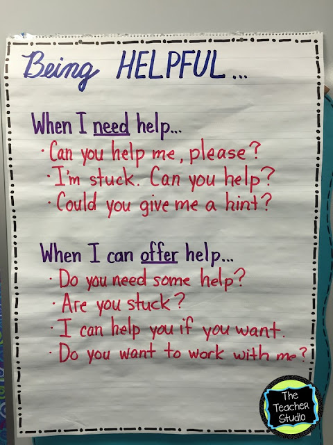 "Getting ready for back to school is so important--and setting a culture and climate for learning is just as important!  See the anchor charts I use to set expectations, help students work cooperatively, use number talks, pick ""just right"" books, and learn the standards for mathematical practice.  First week of school lesson plans and activities"