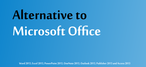 Alternative to Microsoft Office