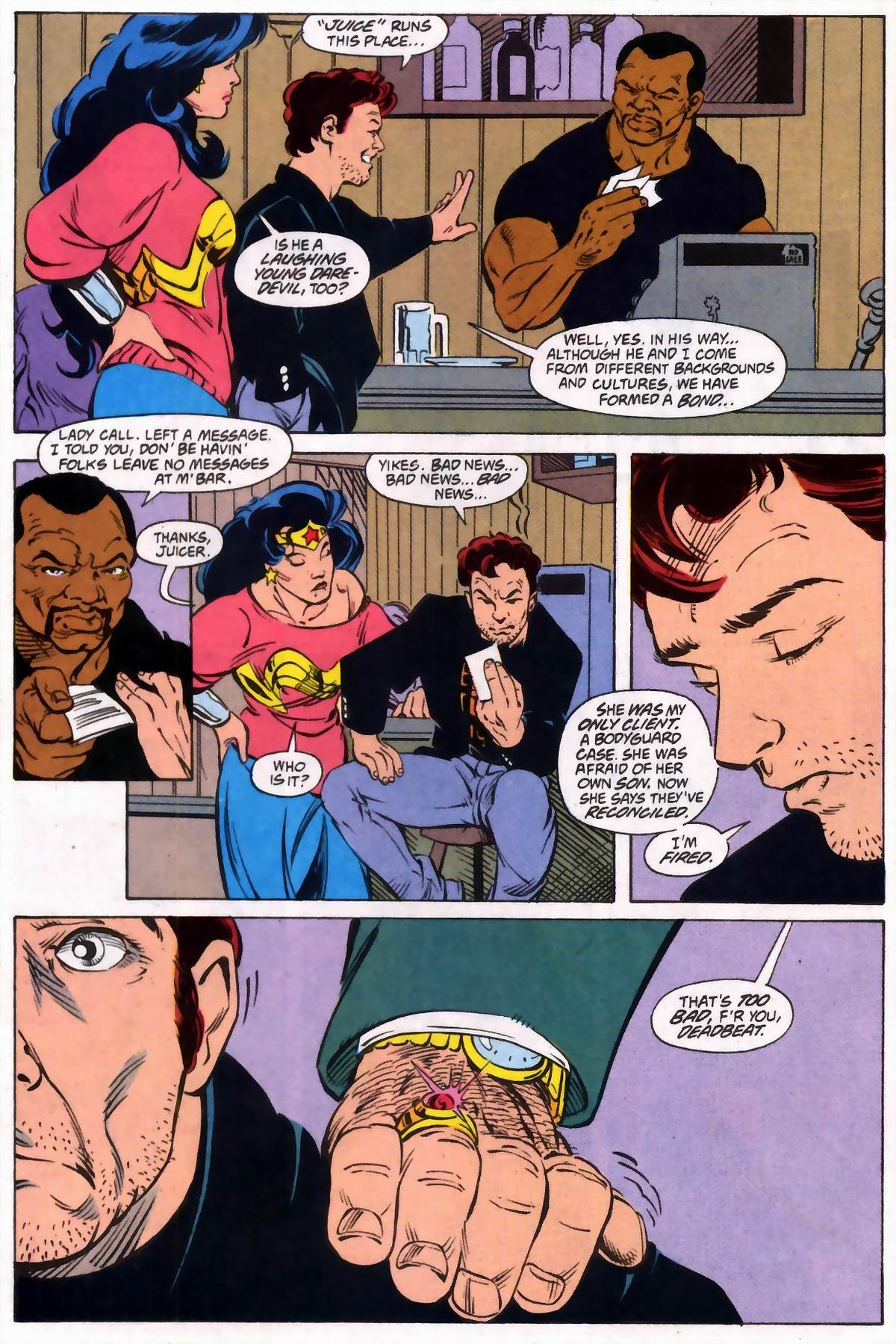 Read online Wonder Woman (1987) comic -  Issue #74 - 11