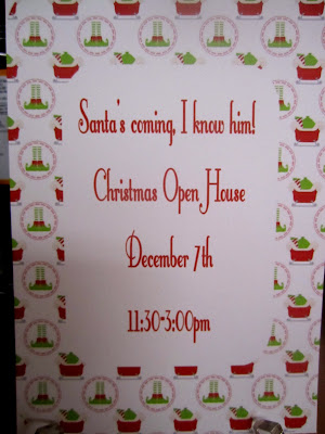Elf party, Christmas party, Cupcake with Charecter invites