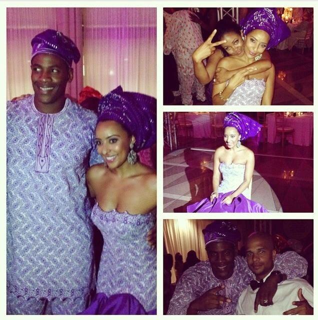 adewale ogunleye wedding pictures