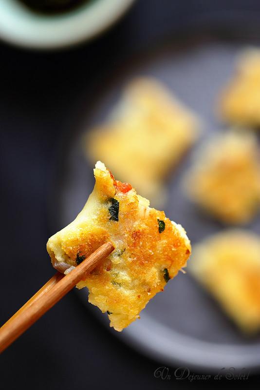 Galette coréenne aux fruits de mer (haemul pajeon)