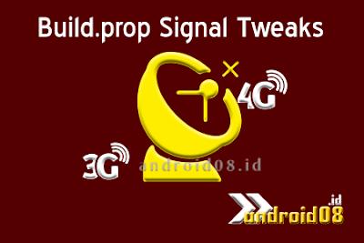Stabilkan Koneksi Internet Dengan Tweaks Build.prop