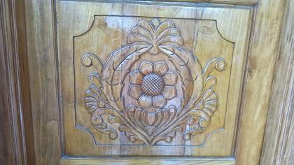 Work Designs | New Kerala Model Wooden Front Doors Wood Design Ideas