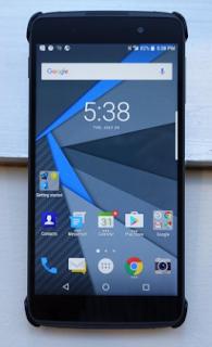 Blackberry Resmi Rilis DTEK50, Smartphone Android Paling Aman di Dunia