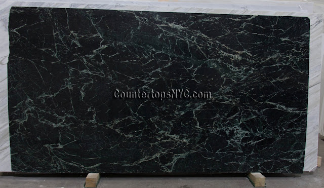 Empress Green Marble Slab NYC 3cm