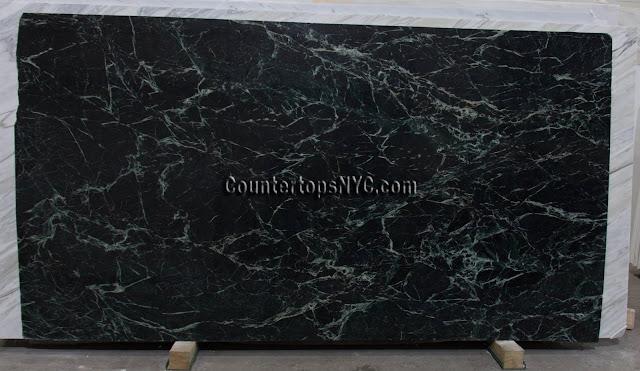 Empress Green Marble Slab NYC 3cm