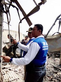 Selidiki Penyebab Kebakaran Benpas, Polisi Datangkan Labfor Polda Jatim