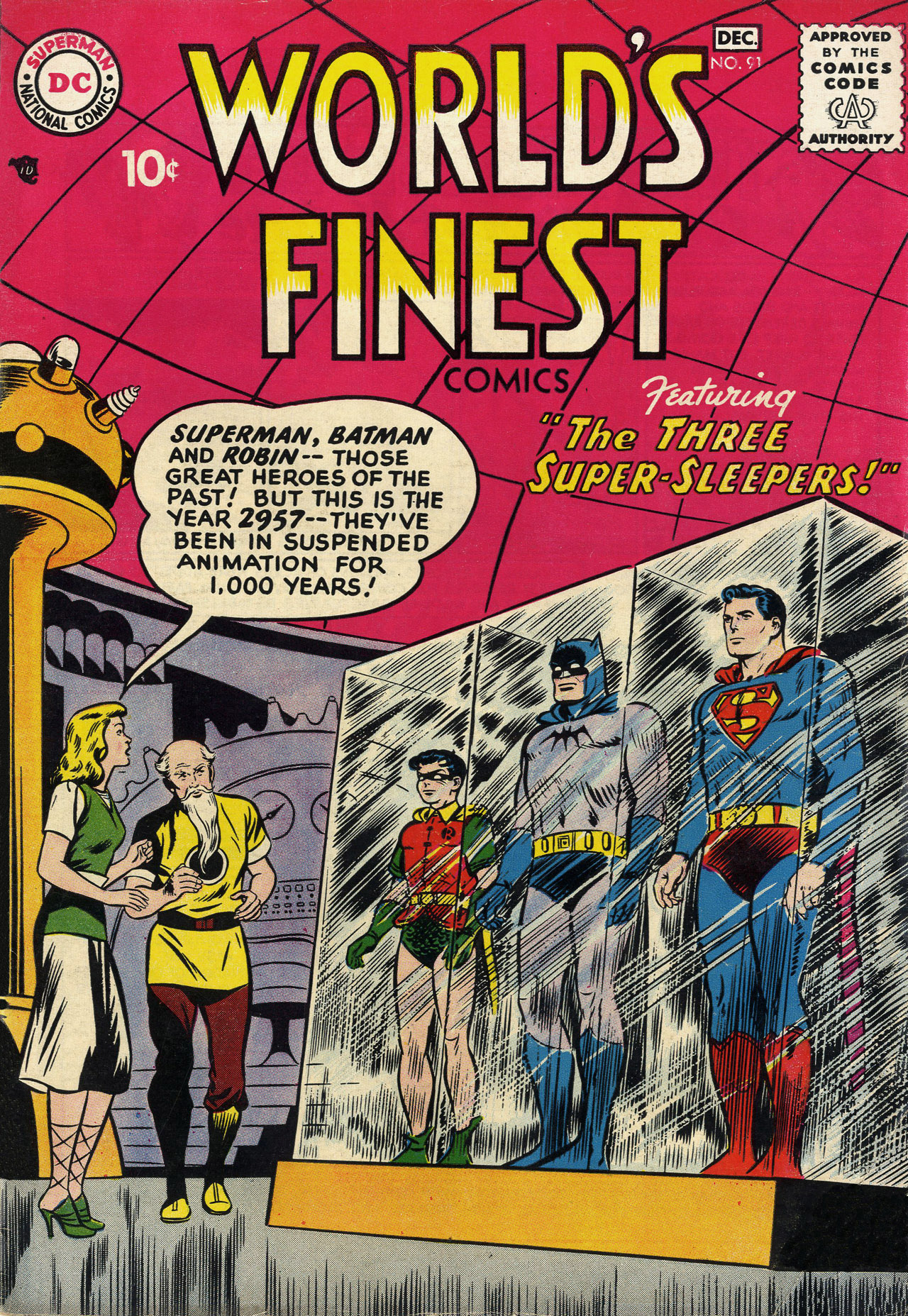 Read online World's Finest Comics comic -  Issue #91 - 1
