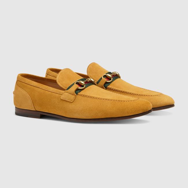 7bdfb1d6b39 https   www.gucci.com uk en gb pr men mens-shoes mens-moccasins-loafers  horsebit-suede-loafer-with-web-p-322500CMA407761 position 19 listName  ...