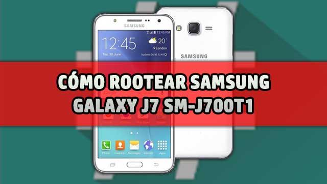 Cómo ROOTEAR Samsung Galaxy J7 SM-J700T1