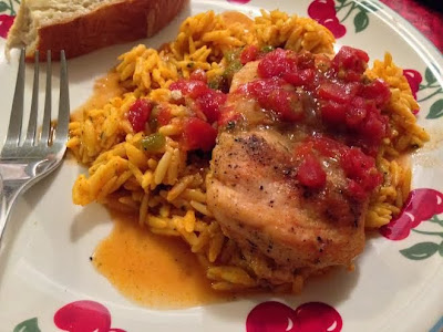 Kickin Chicken Orzo Recipe