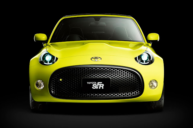 Toyota S-FR Concept Front