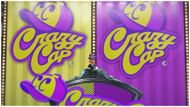 Super Mario Odyssey Crazy Cap New Donk City flagship store sign logo