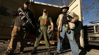 Preppers armados en Estados Unidos